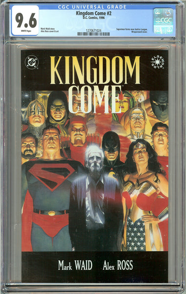 Kingdom Come #2 (1996) CGC 9.6 White Pages 1270671024