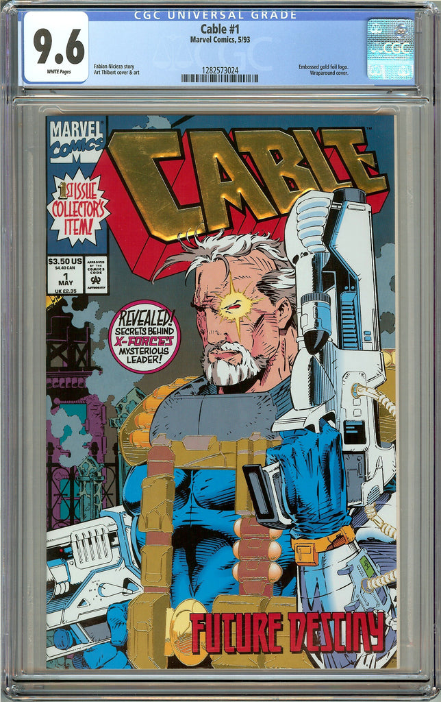 Cable #1 CGC 9.6 White Pages (1993) 1282573024