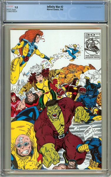 Infinity War #2 CGC 9.8 White Pages (1992) 1286076024