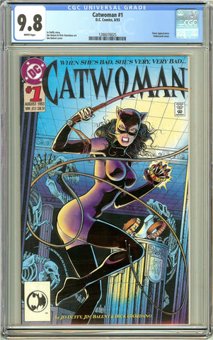 Catwoman #1 CGC 9.8 White Pages (1993) 1286076025
