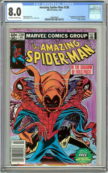 Amazing Spider-Man #238 CGC 8.0 OWT White Pages (1983) 1286078001 1st Hobgoblin