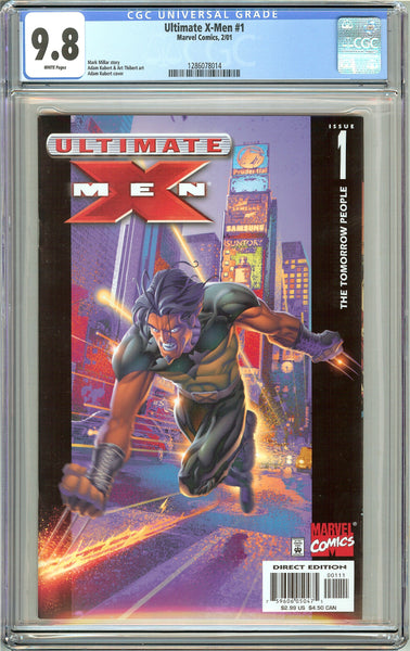 Ultimate X-Men #1 CGC 9.8 White Pages (2001) 1286078014