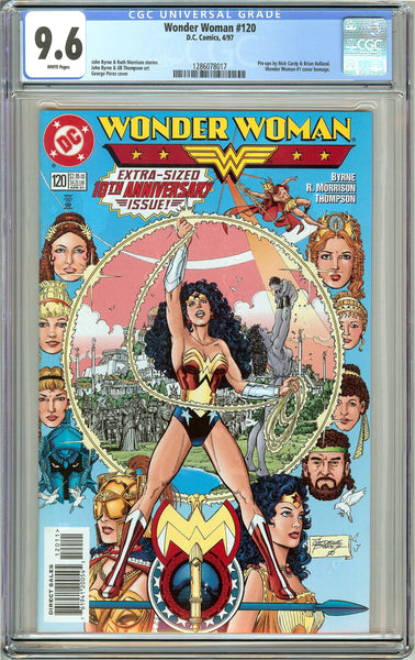 Wonder Woman #120 CGC 9.6 White Pages 1286078017 George Perez cover