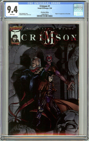 Crimson #1 CGC 9.4 White Pages (1998) 1286078019 Chromium Edition
