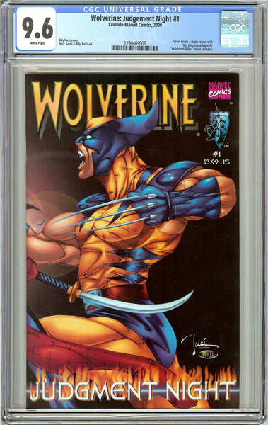 Wolverine Judgement Night #1 CGC 9.6 White Pages (2000) 1290469009