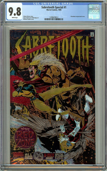 Sabretooth Special #1 CGC 9.8 White Pages 1299629012