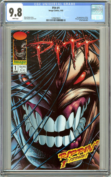 Pitt #1 CGC 9.8 White Pages 1299629023