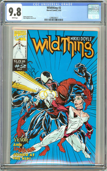 Wildthing #2 (1993) CGC 9.8 White Pages 1299630017