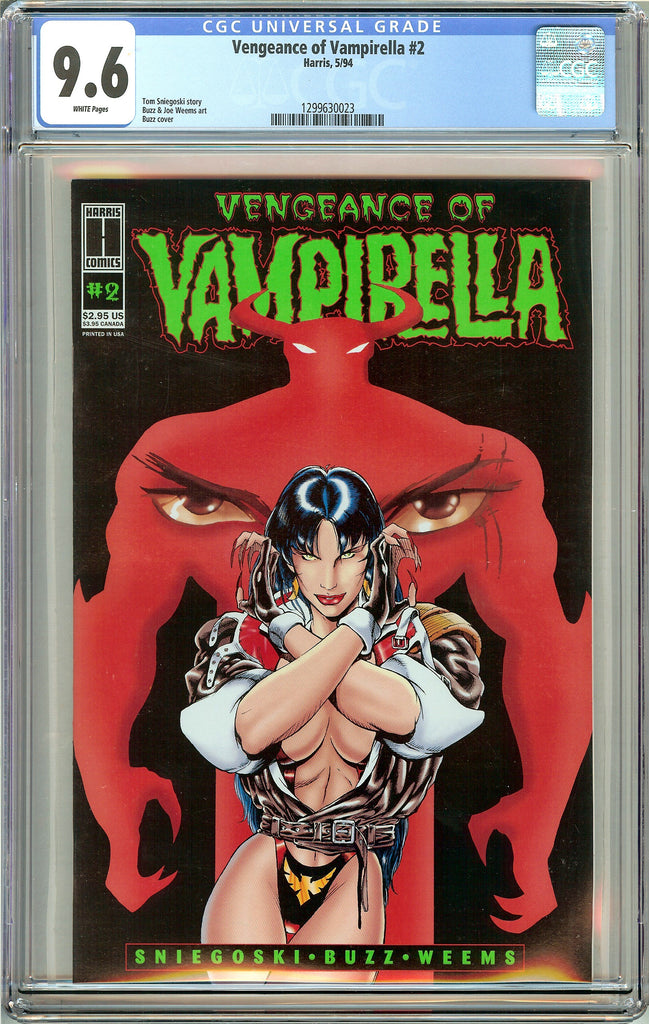 Vengeance of Vampirella #2 CGC 9.6 White Pages 1299630023 (Harris Comics 1994)