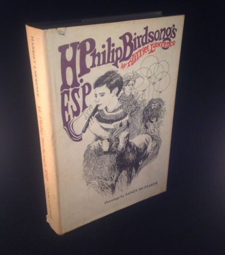 First Edition H. Philip Birdsong's ESP by Harriett Lawrence 1969 Hardcover