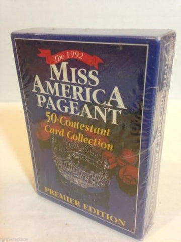 The 1992 Miss America Pageant 50-Contestant Card Collection Premier Edition