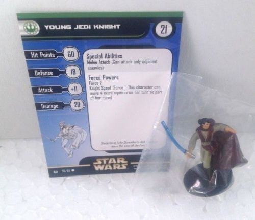 Star Wars Universe 56/60 Young Jedi Knight (C) Miniature