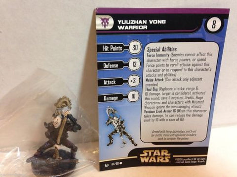 Star Wars Miniatures Universe 60/60 Yuuzhan Vong Warrior (C)