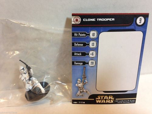 Star Wars Miniatures Clone Strike 07/60 Clone Trooper (C)