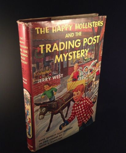 The Happy Hollisters  & The Trading Post Mystery by Jerry West 1954 # 7
