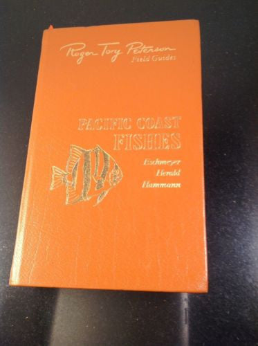 First Edition PACIFIC COAST FISHES by Eschmeyer Herald  Roger Tory Peterson 1984