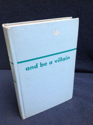 And Be a Villain by Rex Stout 1948 9997524853