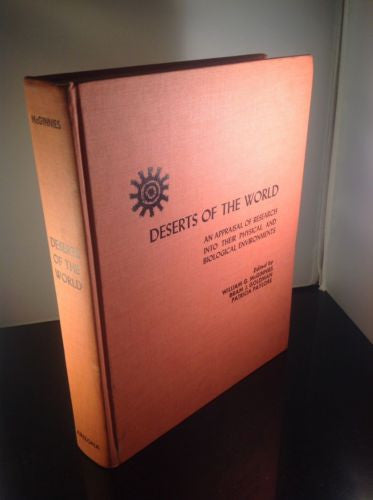Deserts of the World by McGinnies, Goldman, Paylore, 0816501815