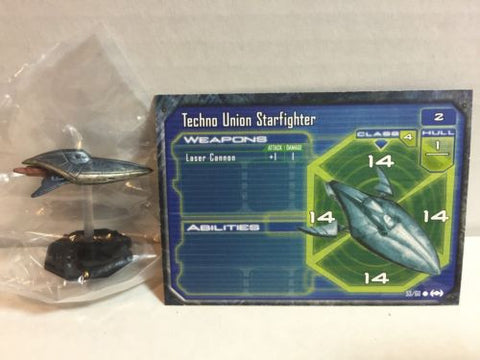 Star Wars Starship Battles 53/60 Techno Union Starfighter (C)