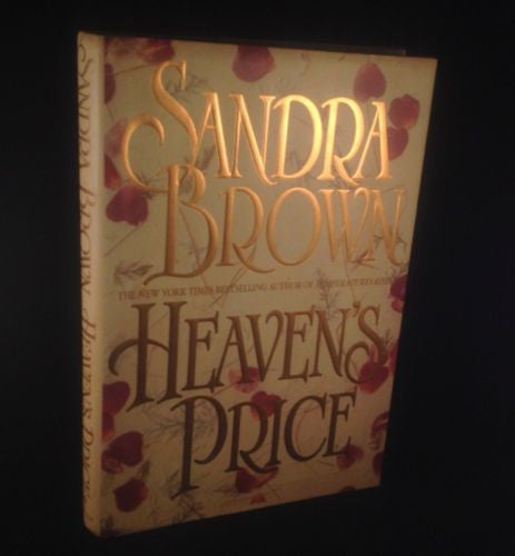 First Edition HEAVEN'S PRICE by Sandra Brown Hardcover 1995