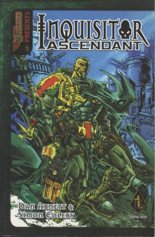 Games Workshop Warhammer  Inquisitor Ascendant 2001 Book 1 OOP