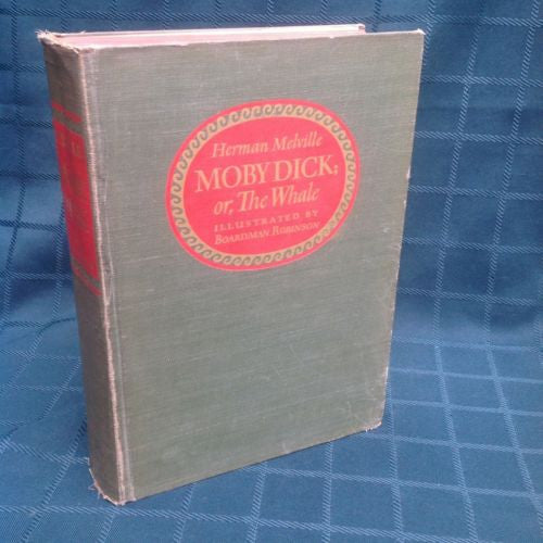 Moby Dick, The Whale by Herman Melville 1943 Limited First Edition