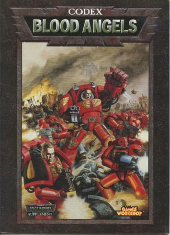 Warhammer 40K Codex Blood Angels 2001 OOP
