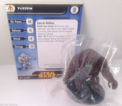 6X Star Wars Revenge of the Sith 54/60 Yuzzem (C) Miniatures