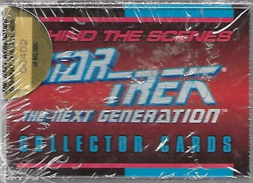 Star Trek The Next Generation Behind the Scenes Collector Card Set 402 / 50,000