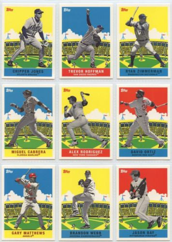 Topps Baseball 2007 Flashback Fridays Partial Set Mint/NM ( 20 Cards )