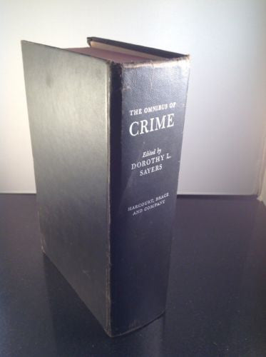 FIRST EDITION The Omnibus of Crime by Dorothy L Sayers 1929