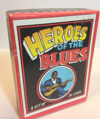 Heroes of the Blues 1992 Trading Card Set 36 Cards