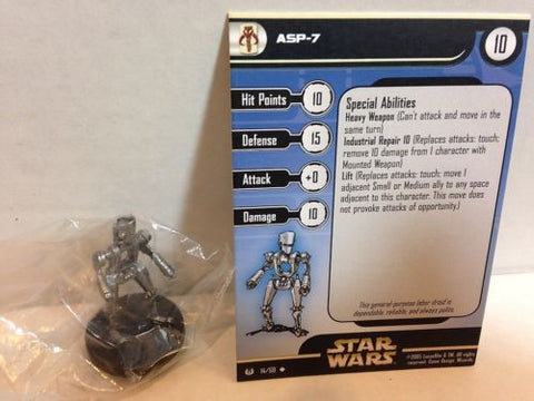 Star Wars Miniatures Universe 14/60 ASP-7 (U)