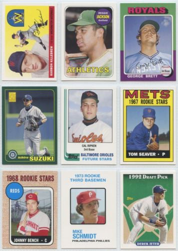 Topps Baseball 2006 Rookie of the Week Set Mint/NM ( 25 Cards )