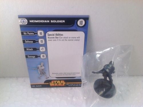 Star Wars Revenge of the Sith 36/60 Neimoidian Soldier (U) Miniature
