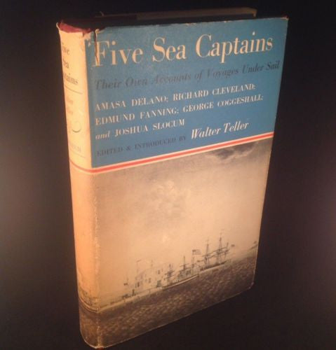 First Edition FIVE SEA CAPTAINS by Walter Teller 1960 Hardcover