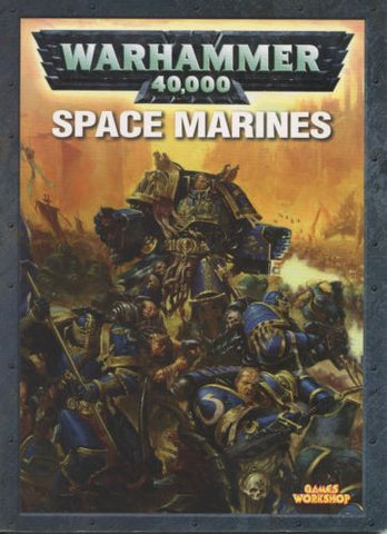 Warhammer 40K Space Marines Rule Book 2004 OOP