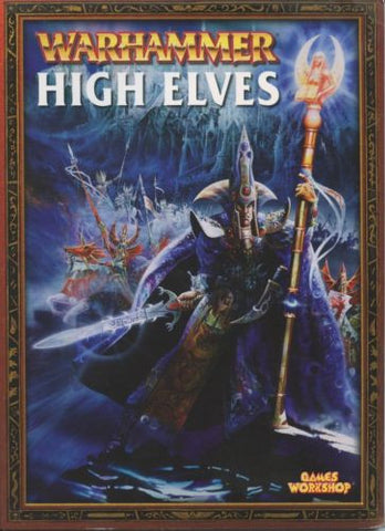Warhammer High Elves 2003 OOP