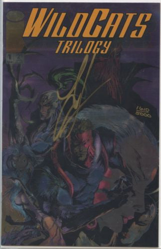 Wildcats Trilogy 1-3 Signed by Jae Lee COA Dynamic Forces 1610/5000