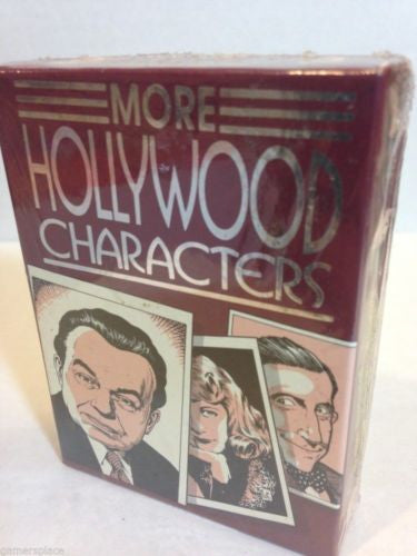 More Hollywood Characters Trading Card Set