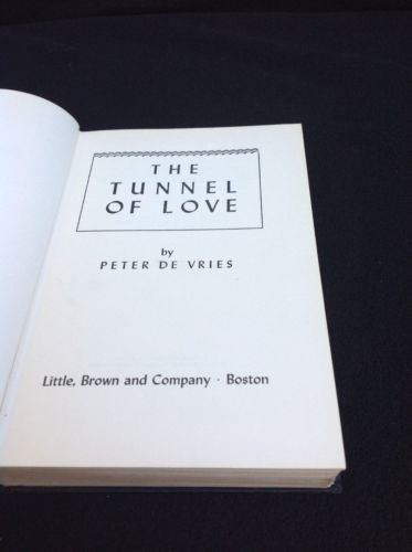 Signed Edition Tunnel of Love by Peter De Vries Rare