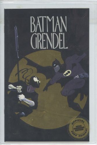 Batman Grendel  Gold Ashcan  Hero Premier Sealed Numbered Edtition 1993