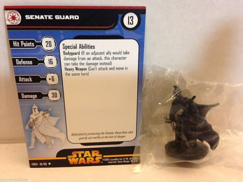 Star Wars Miniatures Revenge of the Sith 18/60 Senate Guard (U)