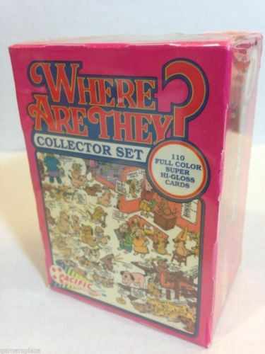Where are they ? 110 Card Collector Set