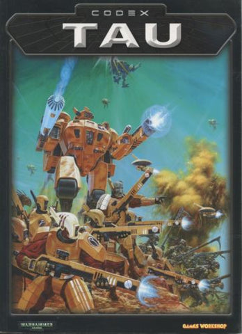 Warhammer 40K Codex Tau 2001 OOP