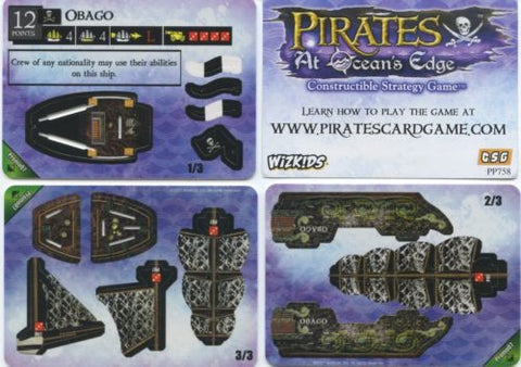 Wizkids Pirates At Ocean's Edge Promo Ship Obago #07