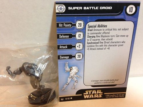 Star Wars Miniatures Universe 10/60 Super Battle Droid (C)