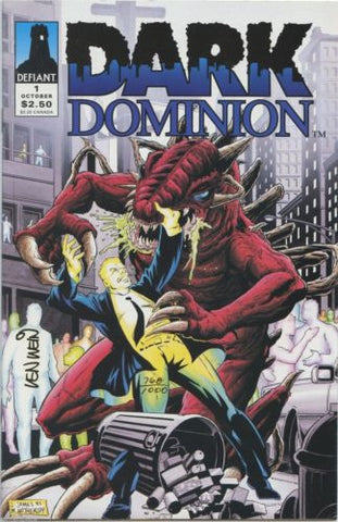 Dark Dominion #1 Dynamic Forces COA signed by Len Wein 768/1000