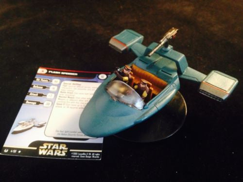 Star Wars Universe 04/60 Flash Speeder (U) Huge Miniature