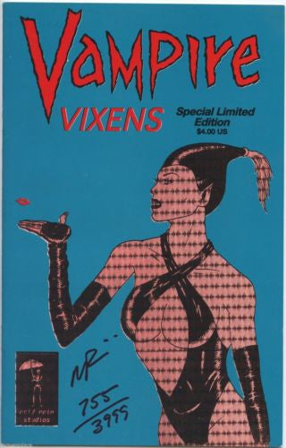Vampire Vixens Special Limited Signed Edition Mark Paniccia  755/3999